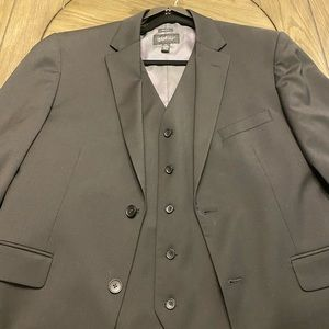 Kenneth Cole Slim Fit Jacket And Vest